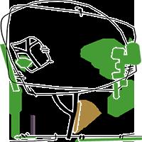 Hoveniers Nijmegen Tuinontwerp- en Adviesbureau Marc Denkers Mobile Retina Logo