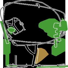 Hoveniers Nijmegen Tuinontwerp- en Adviesbureau Marc Denkers Retina Logo